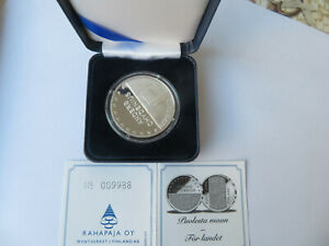 FINLANDE -  10 Euro - 2003 ANDERS CHYDENIUS  Argent (TIRAGE 30.000) BE PP   CPS