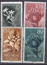 RIO MUNI Edifil # 10/13 flowers / flowers