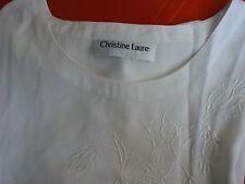 CHEMISIER / TUNIQUE « CHRISTINE LAURE » Taille 46