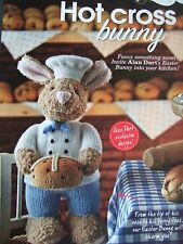 Alan Dart  HOT CROSS BUNNY Rabbit   Toy Pattern DK