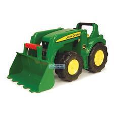 John Deere 53cm Big Scoop Outdoor Sandpit Kids Tractor Loader Farm Vehicle Toy