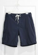 "NWT J CREW Mens Navy Blue 9"" BOARD SHORT Sz 30 Trunks Swimsuit Style A0659"