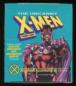 1992 Impel The Uncanny X-MEN Box (36 Factory Sealed Packs) ~ NICE ~ READ: ~