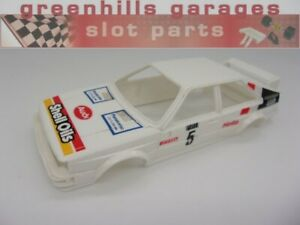 Greenhills Scalextric Audi Quattro Shell Oils No.5 C348 Body Shell - Used - S258