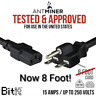 BITMAIN APW3++ 220/250v HVY DUTY Power Cord for Antminer D3,S9,S7,A3, L3, etc