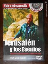 DVD JERUSALEN Y LOS ESENIOS - VIAJE A LO DESCONOCIDO - COMO NUEVA