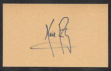 Neil Armstrong Apollo 11 Autograph Reprint On Original Period 1969 3X5 Card
