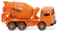 "WIKING Modell 1:87/H0 LKW Betonmischer (MAN) ""Readymix"" orange #068204 NEU/OVP"