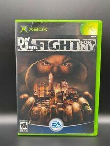 Def Jam: Fight for NY (Microsoft Xbox, 2004) No Manual Tested Working Resurfaced