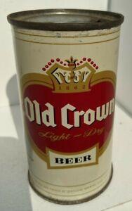 Old Crown flat top beer cans