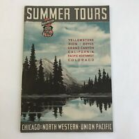 Vintage Brochure Union Pacific California 1938 Yellowstone History Northwestern