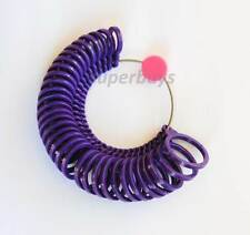 33pcs Plastic Hong Kong Sizes Finger Ring Sizer Sizing Measure Jeweller Tool Set