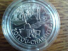 france 10 euros argent 2011 poitou-charentes