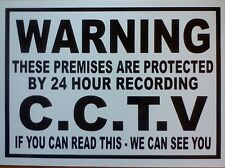 WARNING C.C.T.V. STICKER /DECAL