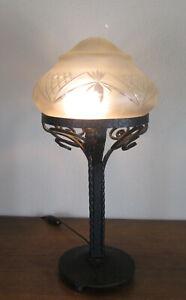 WONDERFUL FRENCH ART NOUVEAU TABLE LAMP 1910/1920