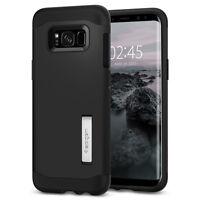Spigen® Samsung Galaxy S8 [Slim Armor] Shockproof TPU Slim Kickstand Case Cover