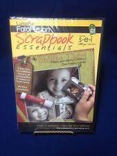 Scrapbook Essentials Tool Arts Crafts FotoFusion Lumapix Cd_Rom New Sealed