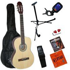 Ashley 4/4 Akustik Konzert Gitarre für Anfänger Blueburst