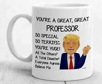 Trump Professor Mug For Professor Gifts For Professor Coffee Mug Funny Donald
