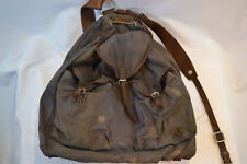 ORIGINAL WWII GERMAN LUFTWAFFE PARATROOPERS BLUE CANVAS RUCKSACK BACKPACK WW2