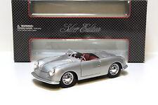 1:18 Maisto Porsche No.1 Typ 356 Roadster silver NEW bei PREMIUM-MODELCARS