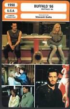 FICHE CINEMA : BUFFALO 66 - Gallo,Ricci,Gazzara,Rourke,Arquette,Huston 1998