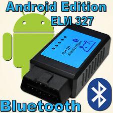 Google Android ELM Adapter Bluetooth Car OBD2 OBDII Diagnostic Interface OBD