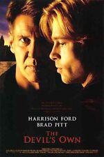 DEVIL'S OWN -1997- orig 27x40 D/S rolled Movie Poster - BRAD PITT, HARRISON FORD