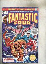 Fantastic Four #153-1974 fn  Medusa Mahkizmo The Nucle