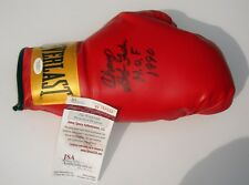 HOF Boxer Bob Foster Signed Everlast Boxing Glove JSA WITNESS CERT Free Ship