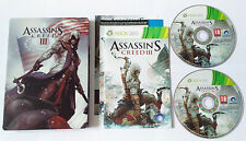 Assassin´s Creed III Freedom Edition Steelbook  - Xbox 360 - **VGC**