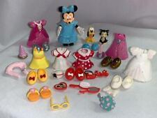 Disney Park Minnie Mouse Fashion Set Lot-Doll Clothes-Wedding-Shoes-Figaro-Pluto