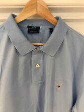 Gant Para Hombre Camisa Polo Tamaño XL azul de bebé