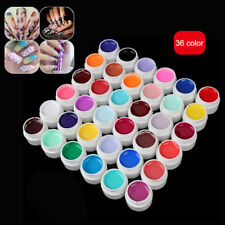 Nail Painting Gel Pure Color UV Kit CANNI Brand Art Salon DIY 36Color Set Design