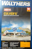 """Walthers HO #933-3486 Culver's (Building kit) Plastic (13 1/4"""" x 8 1/4 x 3 1/4"""""""