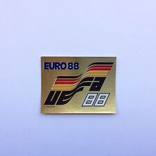 Panini Euro 88 1988 Badge UEFA Number 4 Whith Original Back New