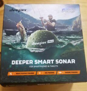 Deeper DP3H30S10 Chirp Castable GPS Wi-fi Wireless Smart Sonar Fish Finder.