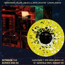 Between The Buried And Me Automata I Yellow Splatter Limited Vinyl