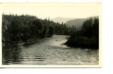 Scenic Water View-Klamath River-California-RPPC-Real Photo Vintage Postcard