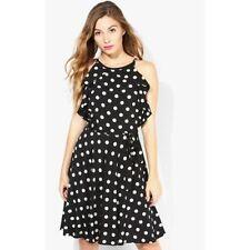 Viscose Sundresses Spotted Regular Size Dresses for Women
