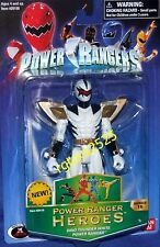 Power Rangers Dino Thunder White Ranger Heroes Series 16 New Factory Sealed 2006