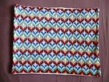 #1633  Beautiful Vintage Hand Made Pillow Case  49cm/37cm(19''x14.5'')