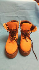 Ladies  Tan Leather Boots  UK Size 4 EU37 Very Good Clean Condition by Roselight