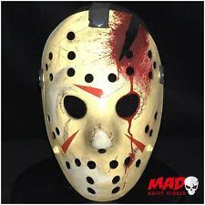 Deluxe jason voorhees masque de hockey partie 4 friday 13th film d'horreur de collection