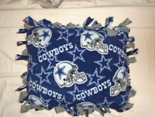 Pillow~ Nfl Dallas Cowboys Football Hand Tied Double Side Fleece Pillow~New