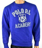 Polo Ralph Lauren Men Polo Sweatshirt New S M L XL XXL Blue Long Sleeve Fleece