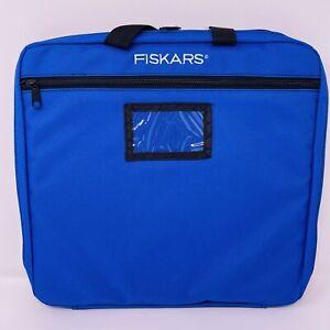 Fiskars Hobby Holder Paper Edgers Scissors Tote Scrap Booking Supplies Bag #3903