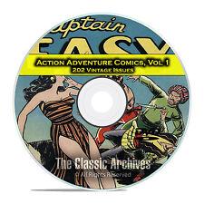 Action Adventure Comics, Vol 1, All Top Comics, Jungle Jim, Golden Age DVD D44