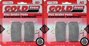 HONDA CB 1000 SINTERED FRONT BRAKE PADS 2xSets for (FP-FR) 1993-1994 CB1000