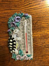 Outside Wall Turtle Design Thermometer